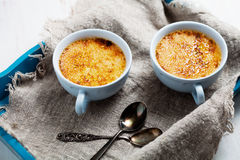 Creme brule Royalty Free Stock Photography