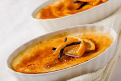 Creme brule Royalty Free Stock Image