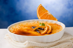 Creme brule Stock Images