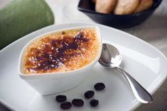 Creme brulee Stock Image