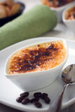 Creme brulee Stock Photography