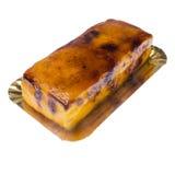 Creme-brulee cake Stock Photos