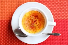 Creme Brulee Royalty Free Stock Photo