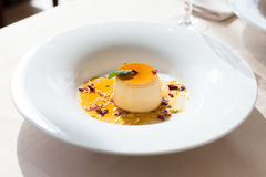 Creme brulee Stock Images