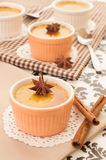 Creme brulee desserts Royalty Free Stock Photography