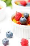 Creme brulee Royalty Free Stock Photography