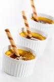 Creme brulee Royalty Free Stock Image