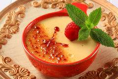 Creme brulee Stock Photos