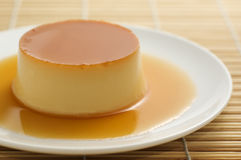 Creme Caramel Stock Photography