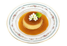 Creme Caramel Royalty Free Stock Images