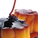 Creme caramel Stock Photos