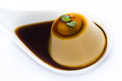 Creme caramel Royalty Free Stock Photography