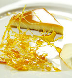 Creme Caramel With Praline Stock Images