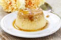 Creme caramel Royalty Free Stock Images
