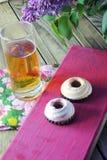 Creme cookies Royalty Free Stock Photo