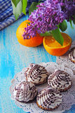 Creme cookies Royalty Free Stock Images