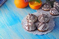 Creme cookies Stock Image