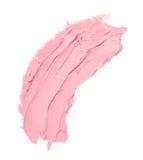 Creme cor-de-rosa da mancha Foto de Stock Royalty Free