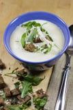 Creme da sopa da cebola Fotos de Stock Royalty Free