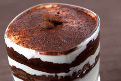 Creme de café Imagem de Stock Royalty Free