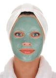 Creme de face Foto de Stock Royalty Free