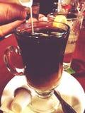Creme des Kaffees n Lizenzfreies Stockfoto