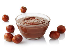 Creme do chocolate Foto de Stock