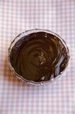 Creme do chocolate foto de stock royalty free
