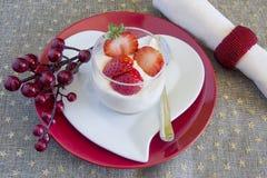 Creme do chocolate branco imagem de stock royalty free