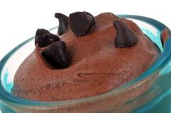 Creme do chocolate no close-up imagens de stock royalty free