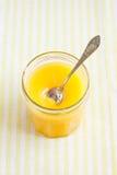 Creme do limão Foto de Stock Royalty Free