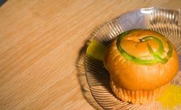 Creme do pão Imagem de Stock