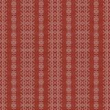 Creme and Red Rough Damask Seamless Pattern. Rough wallpaper damask seamless pattern with creme design over red background vector illustration