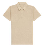 Creme t-shirt isolated Stock Image