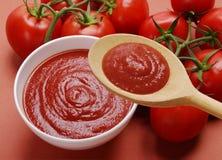Creme vermelho puro Foto de Stock