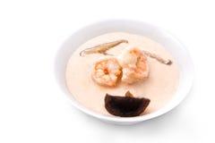 Creme von Meeresfrüchte Garnele Lizenzfreies Stockbild