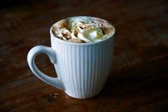 Creme, Zimt und Kaffee Lizenzfreie Stockbilder
