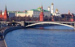 Cremlin en Moscú imágenes de archivo libres de regalías