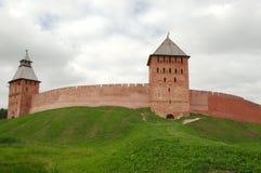 Cremlino Detinets di Veliky Novgorod Fotografie Stock