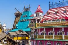 Cremlino di Izmailovo in città Mosca Fotografia Stock