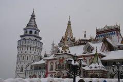 Cremlino di Izmailovo a Mosca, Russia Immagine Stock