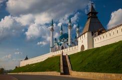 Cremlino di Kazan, Kazan Immagine Stock Libera da Diritti