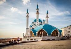 Cremlino di Kazan, Kazan Fotografia Stock