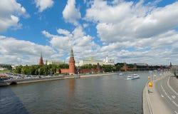 Cremlino di Mosca un giorno soleggiato Immagine Stock Libera da Diritti