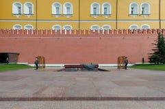 Cremlino di Mosca un giorno soleggiato Fotografia Stock Libera da Diritti