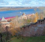 Cremlino di Nižnij Novgorod Fotografia Stock