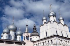 Cremlino di Rostov, Russia immagine stock