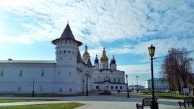 Cremlino di Tobol'sk nel giorno del autemn immagini stock libere da diritti