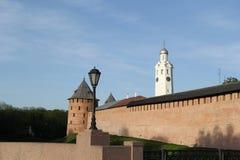 Cremlino in Velikiy Novgorod Immagine Stock Libera da Diritti