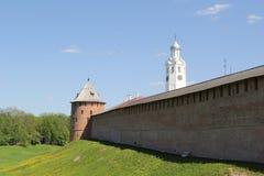 Cremlino in Velikiy Novgorod Fotografia Stock